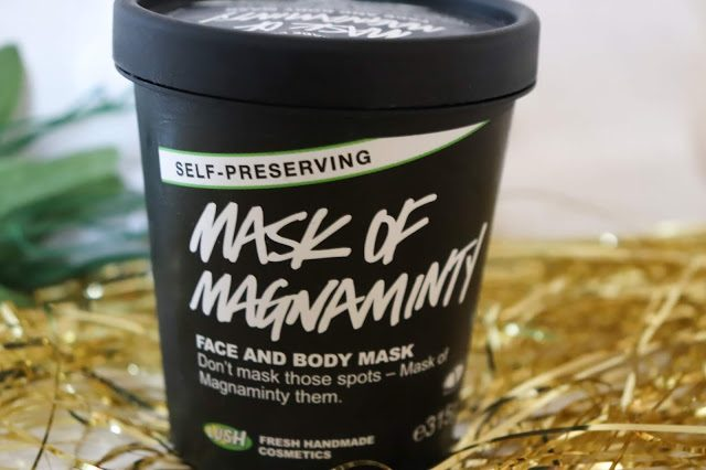 Body shop mask of magnaminty