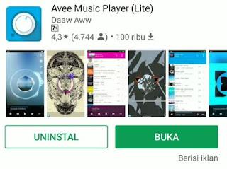 Cara Menggunakan Avee Music Player