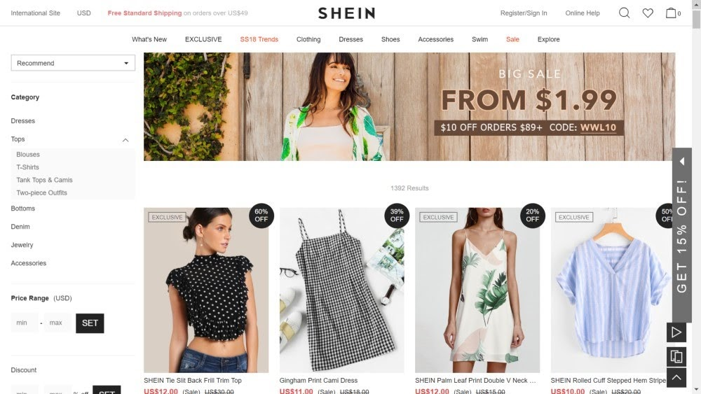 SHEIN Official Site