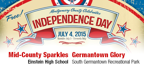 eda81d50795b1 Montgomery County will again host two Independence Day fireworks displays  on July 4 -- Germantown Glory at the Maryland SoccerPlex in the South  Germantown ...