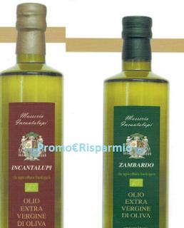 Logo Campione omaggio Olio extravergine d'oliva Bio