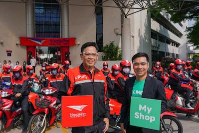 LINE SHOPPING ร่วมกับ ไปรษณีย์ไทย ส่งแคมเปญช่วยร้านค้าออนไลน์  ลดต้นทุนเพิ่มกำไร ให้ค่าส่งเหลือเพียง 19 บาท
