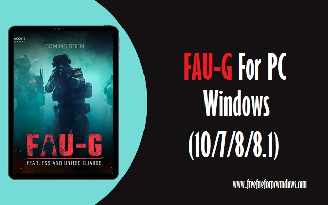 FAU-G for PC