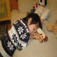 Crianças com medo de dormir sozinhas