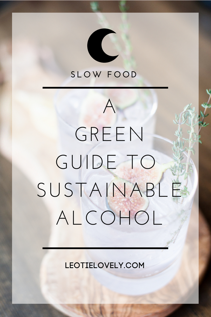 ethical alcohol, eco alcohol, sustainable alcohol, green alcohol, vegan alcohol, green party, ethical party, sustainable party