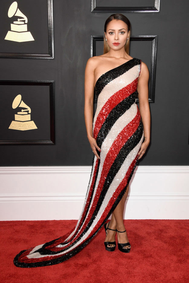 See what your favourite celebs wore to 2017 Grammy Awards