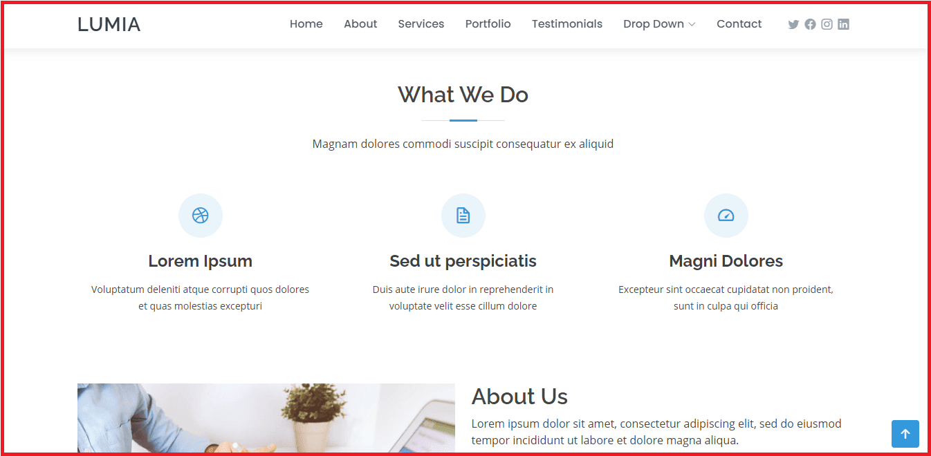 template bootstrap gratis