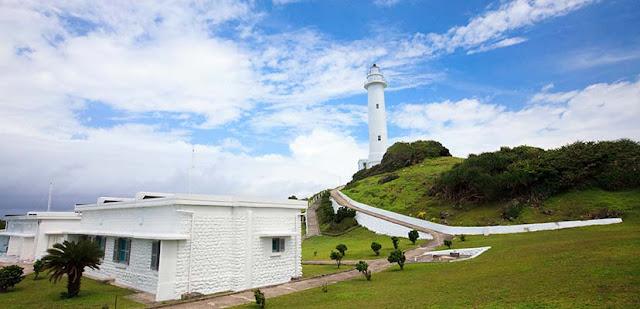 日治時期興建,站在燈塔頂端可眺望綠島