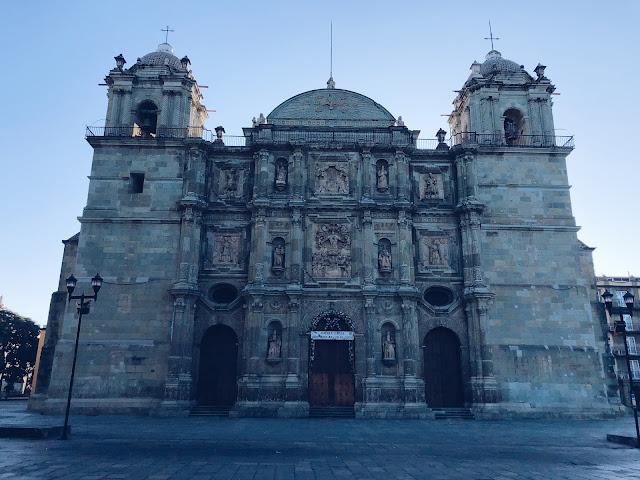 Cathedral Oaxaca City Mexico