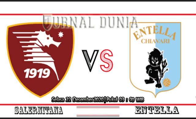 Prediksi Salernitana vs Entella , Selasa 22 Desember 2020 Pukul 03.00 WIB