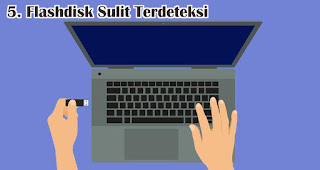Flashdisk Sulit Terdeteksi merupakan salah satu ciri flashdisk palsu