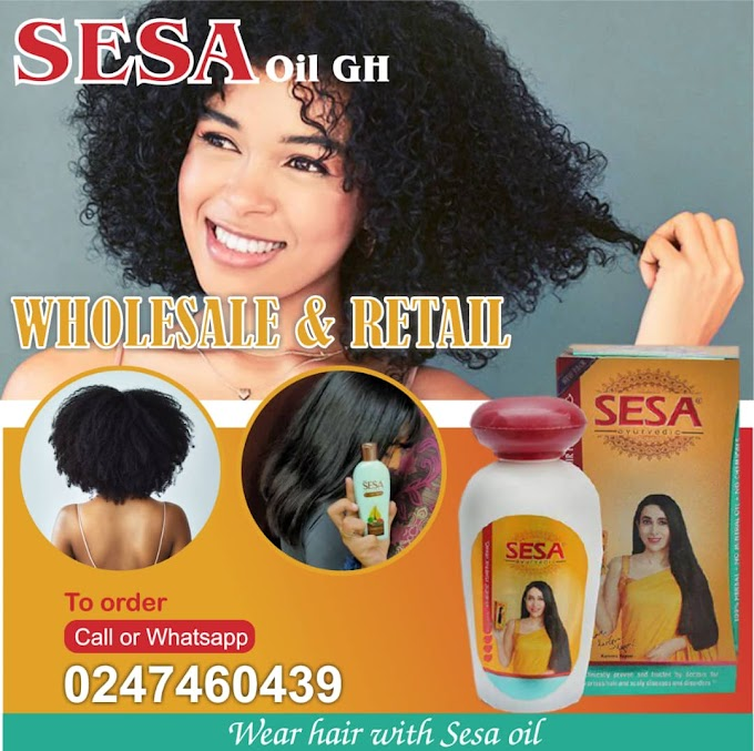 Get your SESA Hair Oil that help you get rid of dandruff and scalp infection
