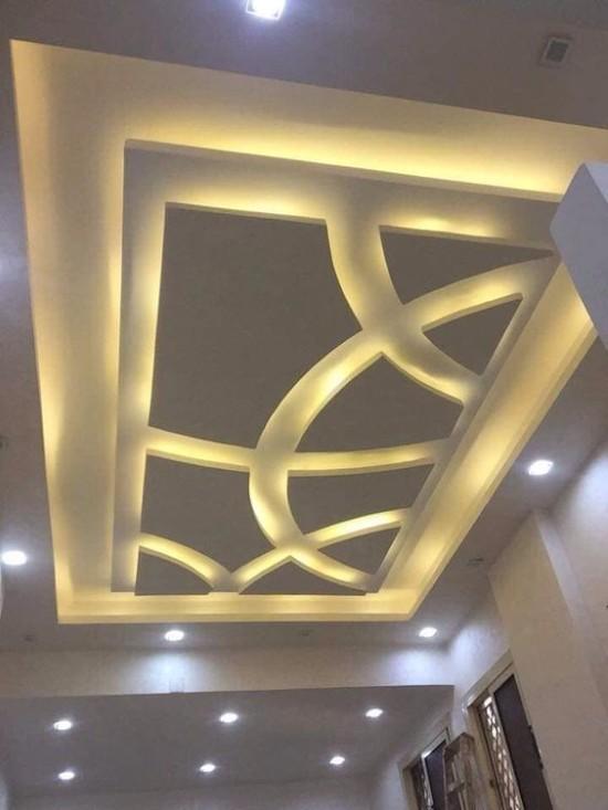 desain inspiratif model plafon minimalis terbaru
