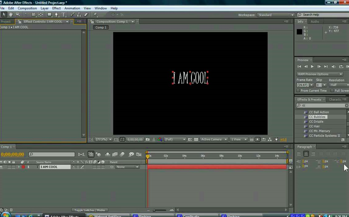 Adobe After Effects CS4 Full Version Terbaru 2020 Working