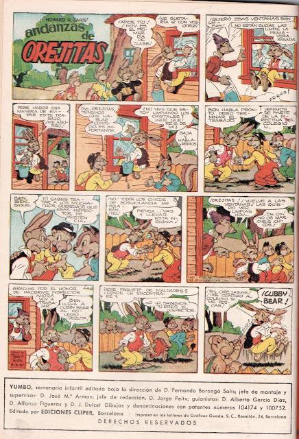 Orejitas (Yumbo nº 5, 18-IX-1953)