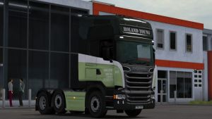 Scania RJL Roland Young Skin