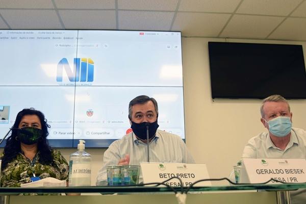 PARANÁ: Reunião discute ampliação da cobertura vacinal e combate à dengue
