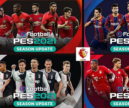 PES 2021 Start Screen Pack For PES 2017 - PES 2019