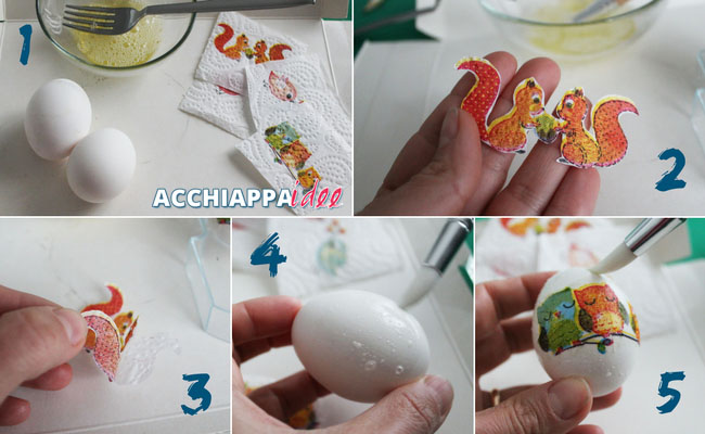 Tutorial1 uova sode decoupage