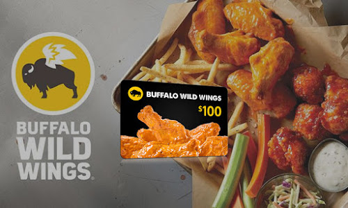 Get $100 to spend buffalo wings now: $100 buffalo wild wings giftcard