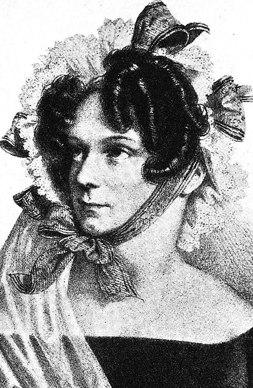 her vague expression was highly charged erotica in 1828