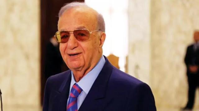 وفاة السياسي اللبناني ميشال المر متأثر في إصابته بكورونا