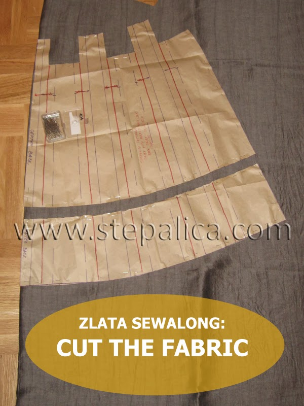 Zlata skirt sewalong: #5 Cut the fabric