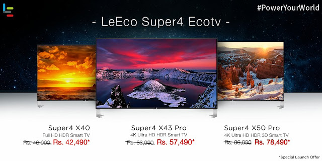 Le Eco Launched New 4K UHD TV'S At Amazon