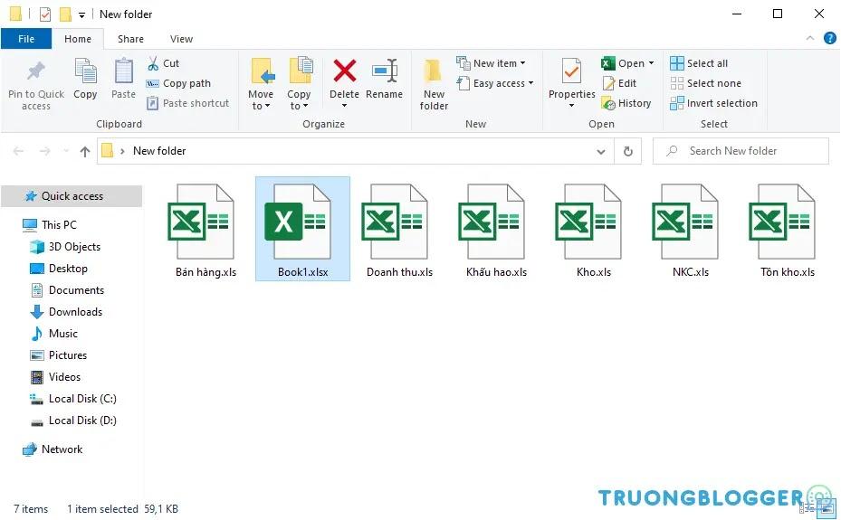 Cách tách Sheet thành từng file Excel riêng biệt trong Excel