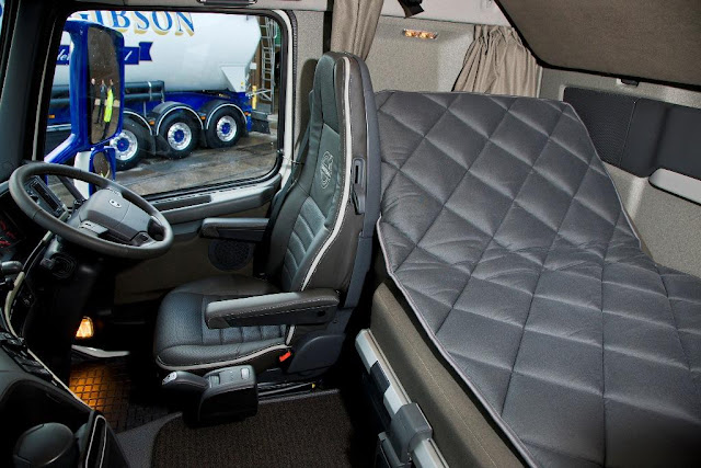 Features of the truck driver