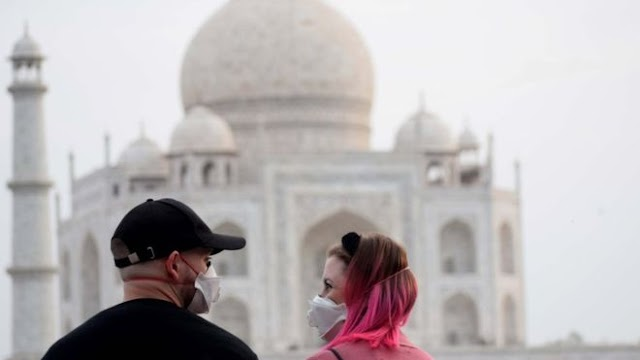 Taj Mahal: 'Monument of love' shuts down amid coronavirus fears