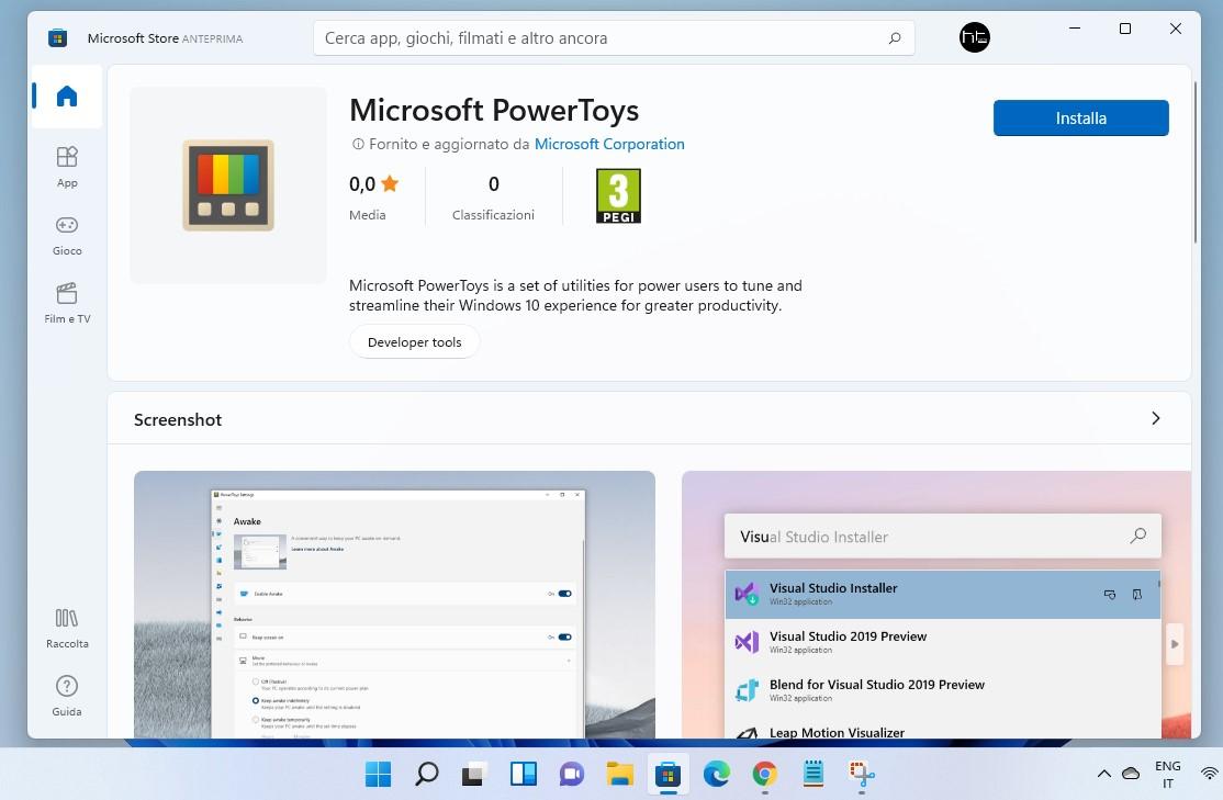 Microsoft porta i PowerToys nello Store di Windows 11