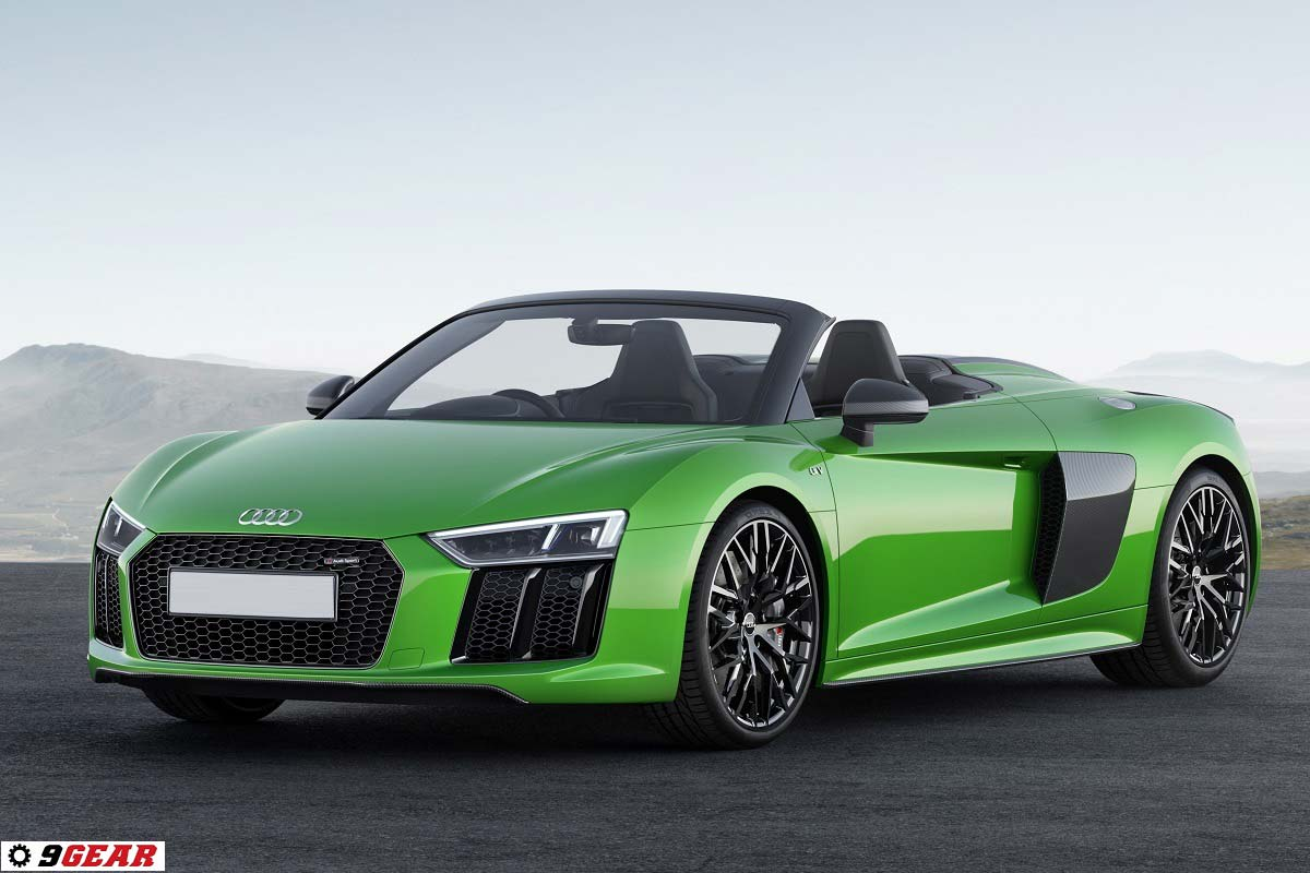 2018 Audi R8 Spyder V10 plus - Convertible top model with 610 hp | Car Reviews | New Car ...