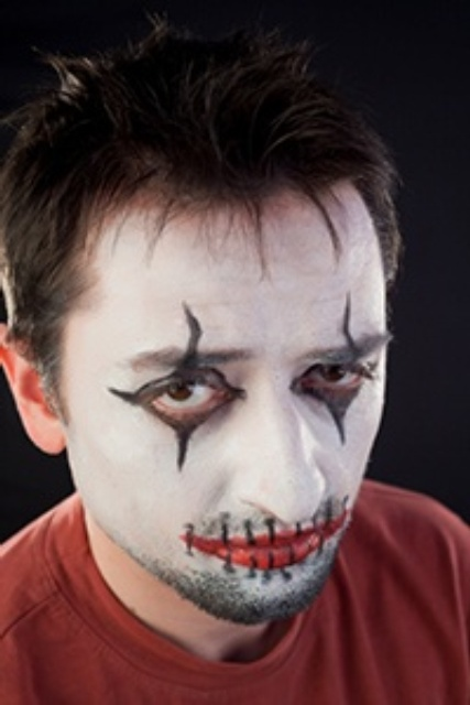 Simple Halloween Face Painting Designs
