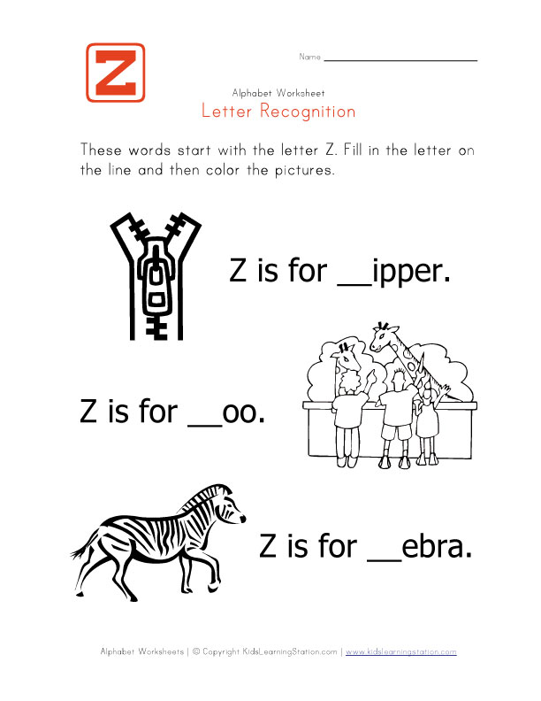 5 letter z words phonics teachernick 20253 | Worksheet Letter Z