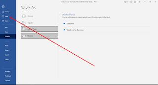 Cara Membuka Microsoft Word Dari Awal