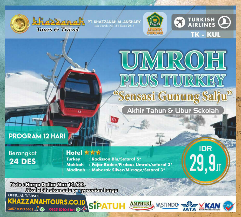 Umroh Plus Turkey Gunung Salju Tour