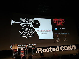 RootedCon 2020 - Gonzalo Asensio y Pablo Vera - Hackers ciberbeers