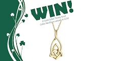 Win an Irish Claddagh Necklace