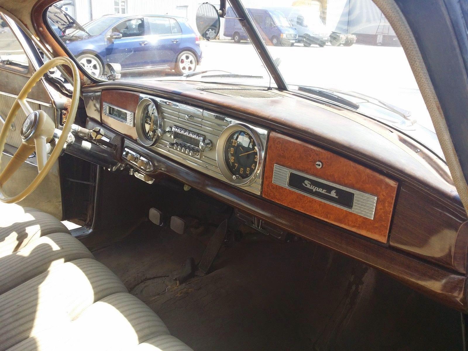 1950 Hudson Super Six Run Amp Drive Auto Restorationice