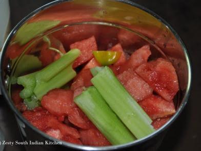 مشروب البطيخ الحار