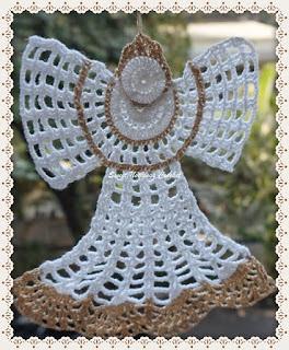 crochet xmas decoration