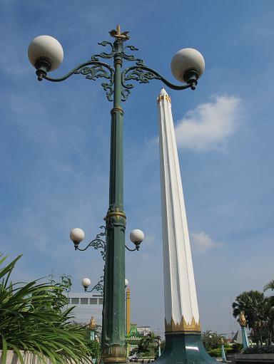 Tugu Pahlawan di Kota Surabaya