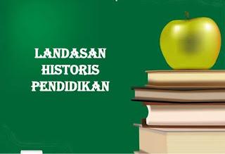 landasan historis pendidikan indonesia pasca proklamasi kemerdekaan