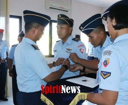 Dankodiklatau Resmi Tutup KIBI Sesa Sultan Hasanuddin A-14