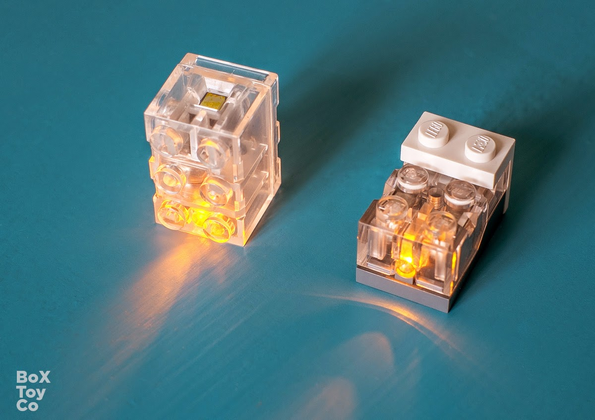 Different placement ... & Light up your LEGO Town | BoxToy.Co