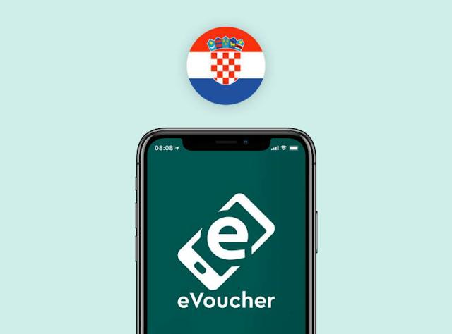eVoucher Croatia - Chorvatsko