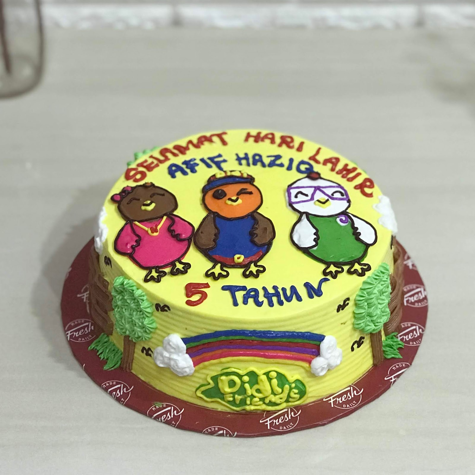 Didi Friends Cake Latiffah Cake House