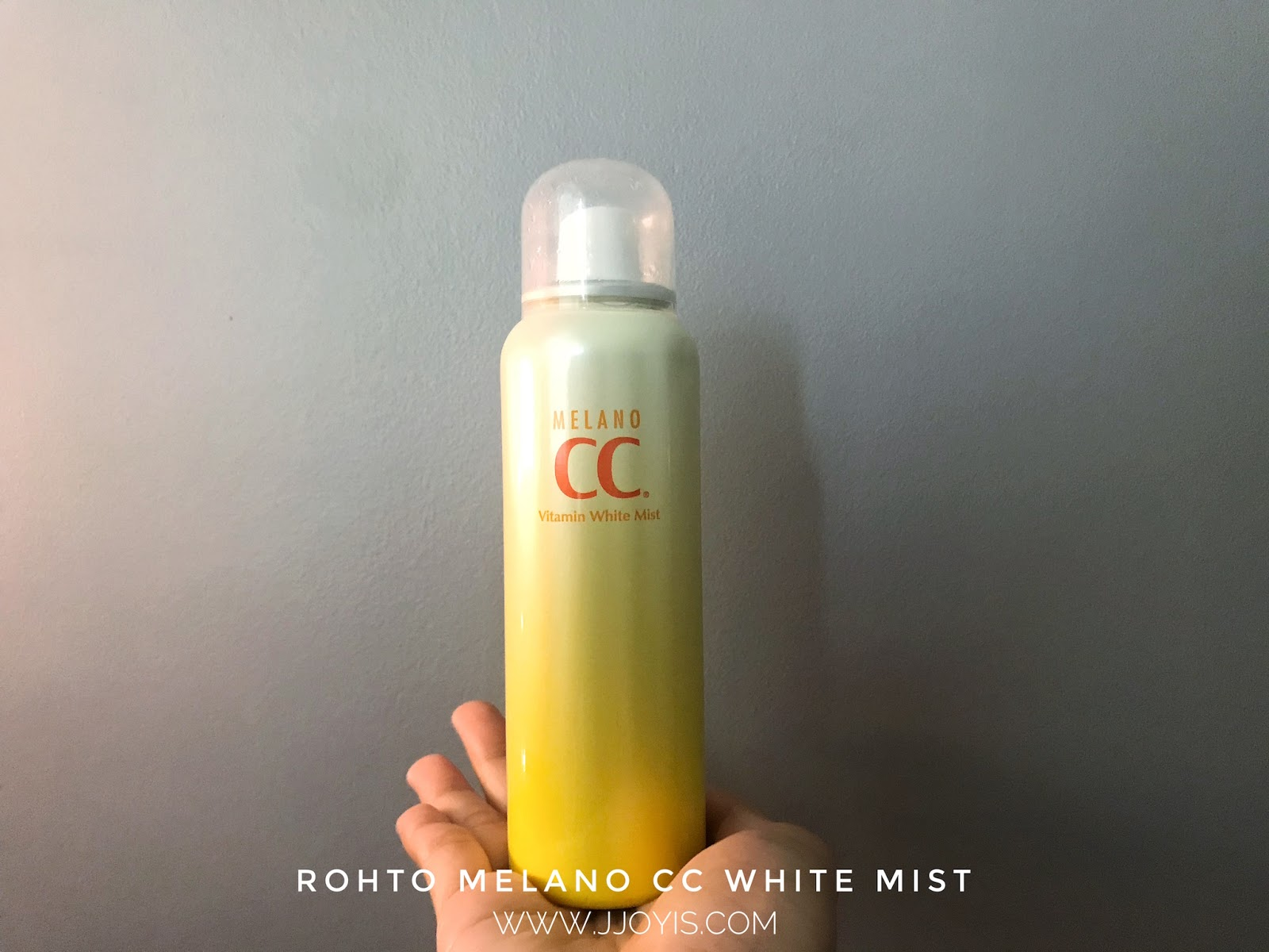 rohto melano cc white facial mist review japan