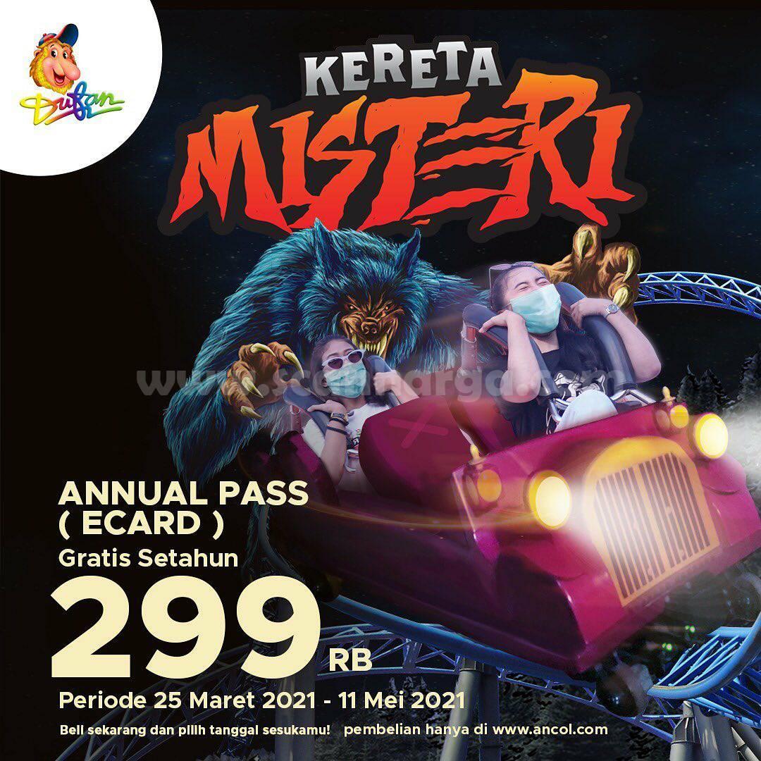 Dufan Promo Annual Pass! Setahun Bebas Main di Dufan Harga cuma Rp 299.000